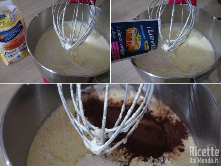 Ciambella ricotta e cioccolato 3