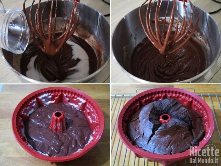 Ciambella ricotta e cioccolato 4