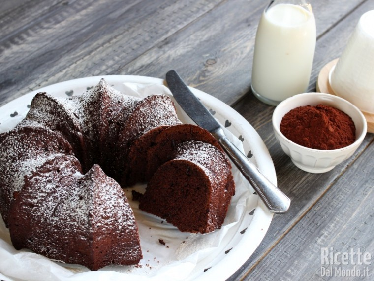 Ricetta ciambella soffice con ricotta e cioccolato
