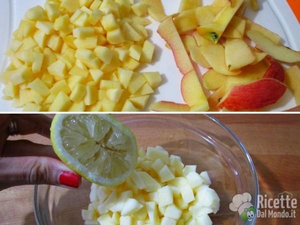 Cornetti di pasta sfoglia alle mele 2