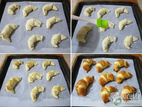 Cornetti di pasta sfoglia alle mele 5