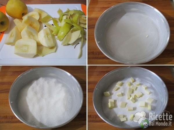 Torta di mele rovesciata francese 2