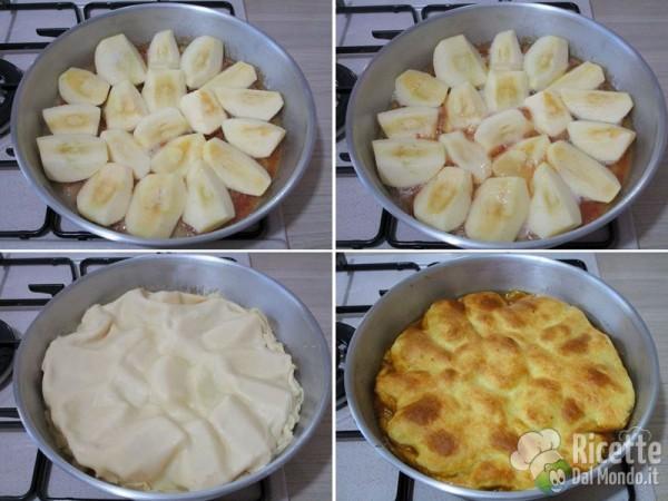 Torta di mele rovesciata francese 4