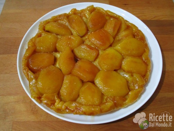Torta di mele rovesciata francese 5