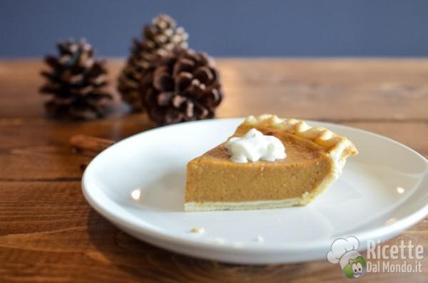 Festa del ringraziamento: pumpkin pie