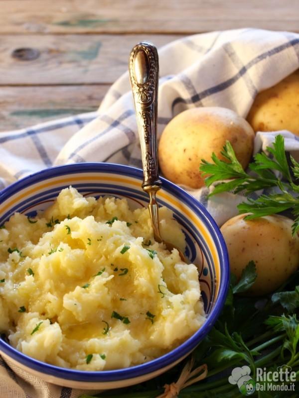 Come fare le mashed potatoes