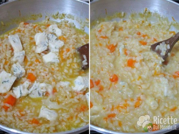 Riso zucca e gorgonzola 5