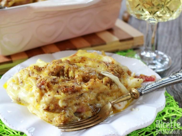 Come fare le lasagne al pesto di pistacchio