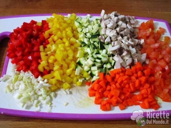Sformato con verdure e quinoa 4