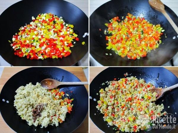 Sformato con verdure e quinoa 5
