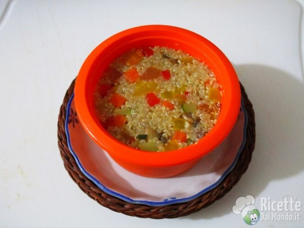 Sformato con verdure e quinoa 6