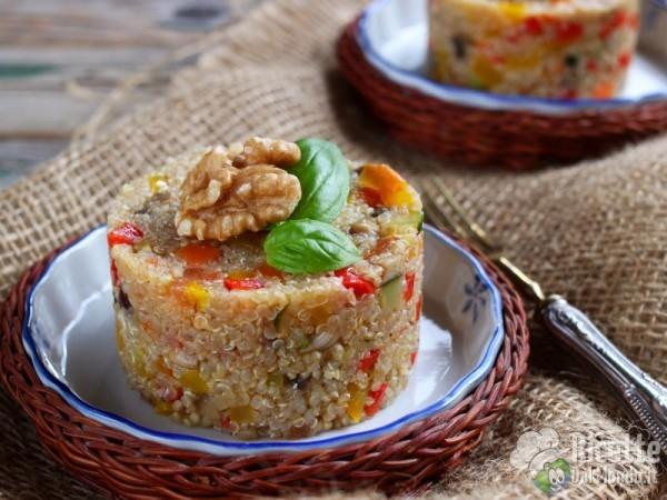Come fare gli sformatini di quinoa con verdure