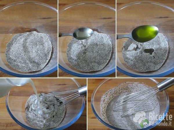 Millefoglie di crepes di grano saraceno vegan 2