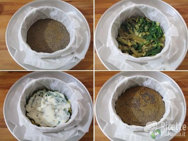 Millefoglie di crepes di grano saraceno vegan 10