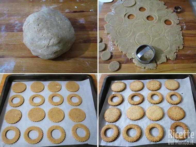 Biscotti cookies Linzer 3