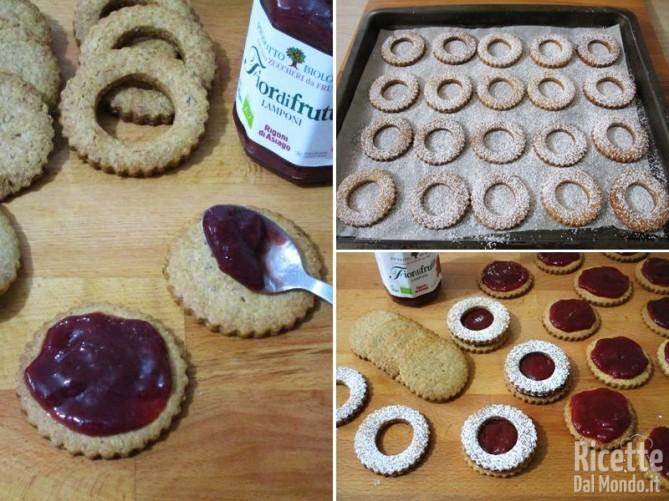 Biscotti cookies Linzer 4