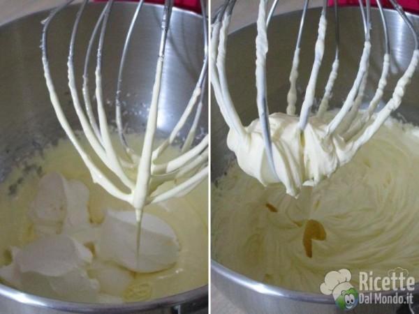 Panettone con crema al mascarpone 4