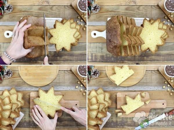 Torta semplice di pandoro 2