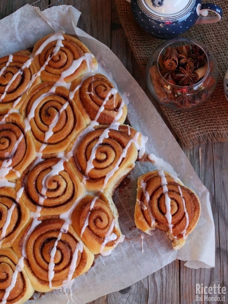 Come fare i cinnamon rolls