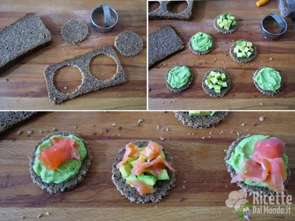 Tartine di salmone e avocado 10