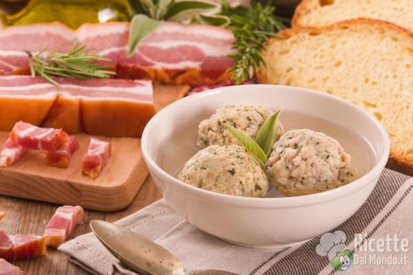Cucina trentina: canederli