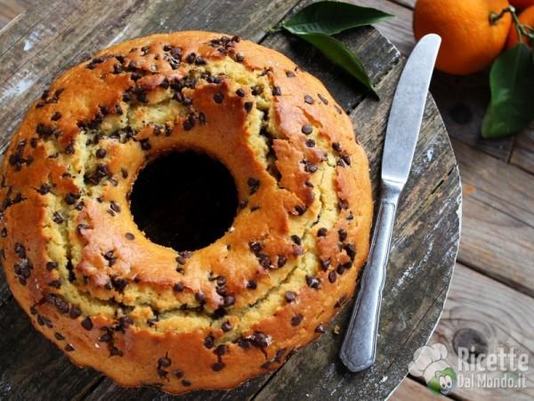 Ricetta ciambella acqua e arancia