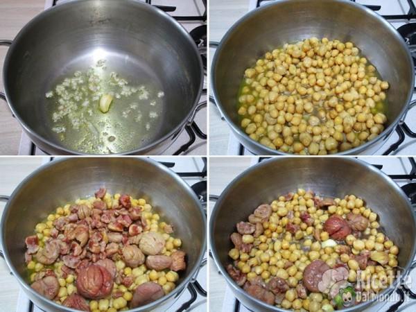 Zuppa di castagne e ceci 3
