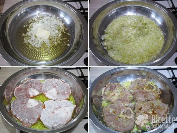 Ossibuchi alla milanese con risotto 3