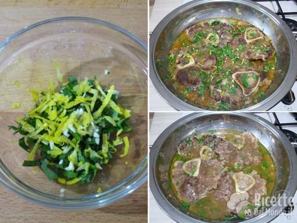 Ossibuchi alla milanese con risotto 5