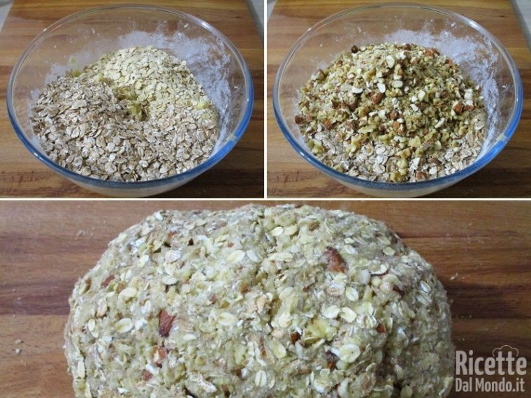 Cookies ai fiocchi di avena e farro 4