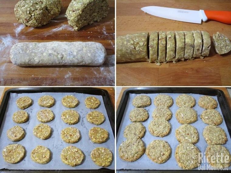 Cookies ai fiocchi di avena e farro 5
