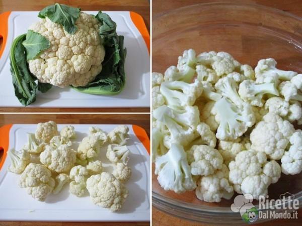 Cavolfiore all'insalata 2