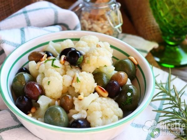 Ricetta insalata di cavolfiore