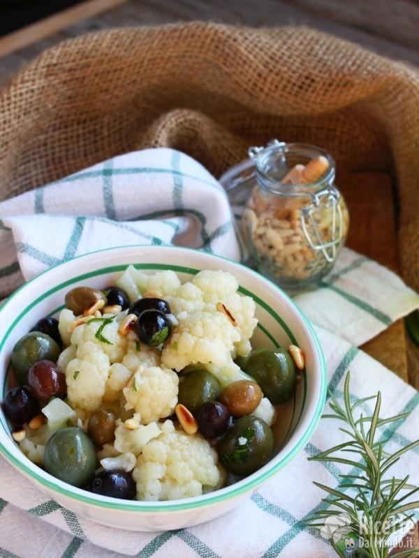Ricetta insalata di cavolfiore bollito