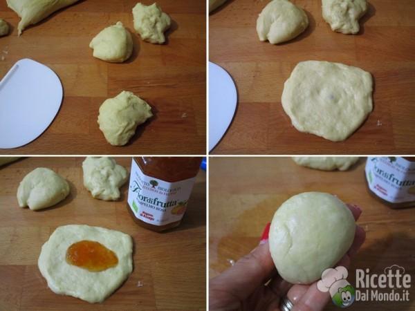 Pane delle scimmie dolce lievitato 5