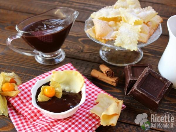 Sanguinaccio, crema al cioccolato