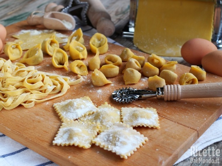 Come fare la pasta fresca all'uovo