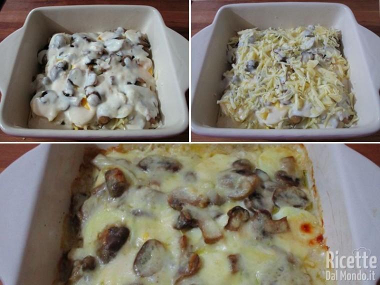 Teglia di uova e funghi 6