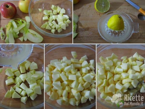 Torta di mele sbriciolata 4