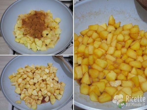 Torta di mele sbriciolata 5