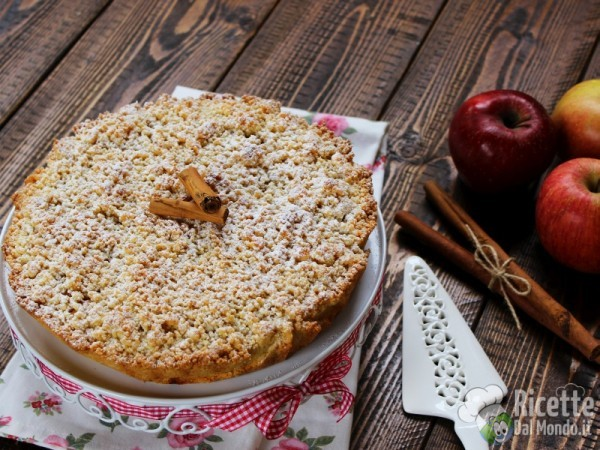 Ricetta sbriciolata di mele