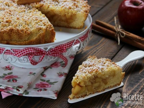 Torta sbriciolata di mele
