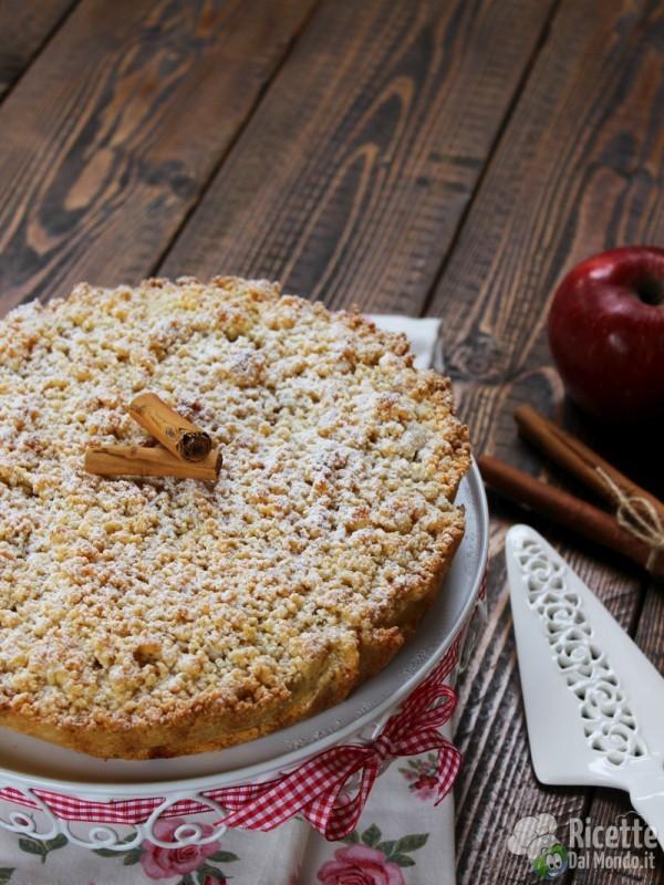 Come fare la sbriciolata di mele