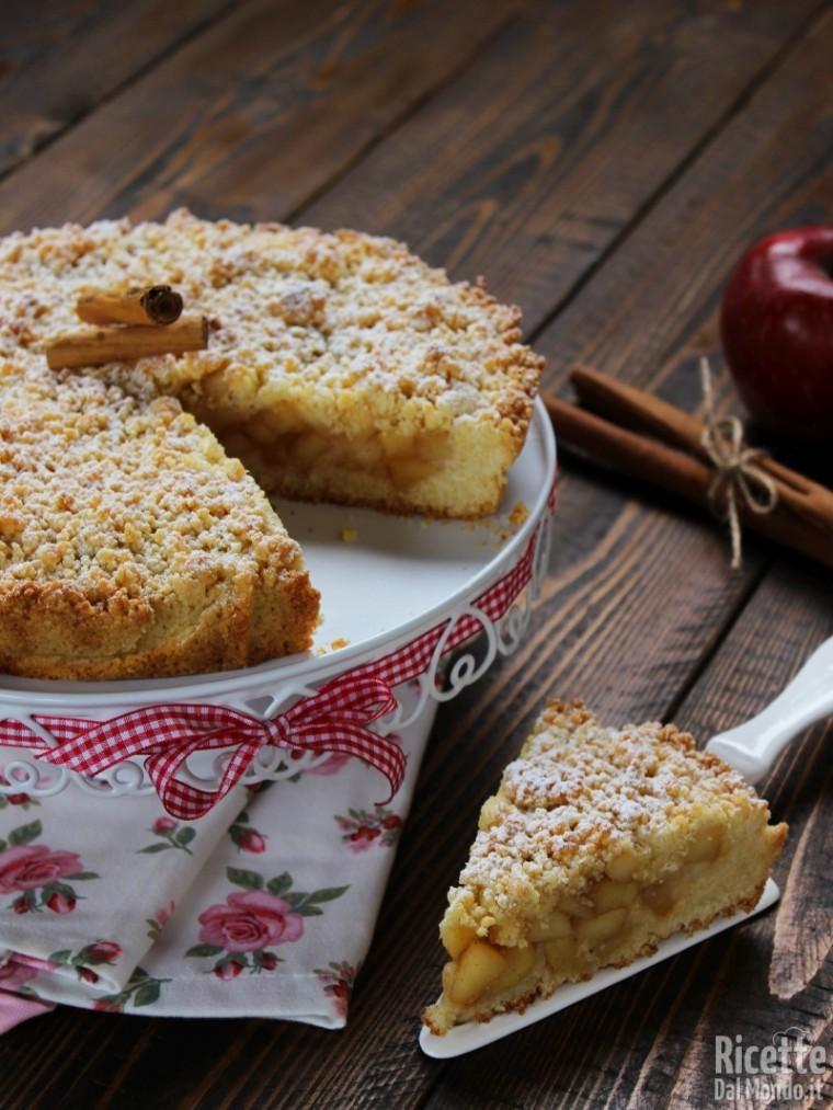 Sbriciolata di mele, semplice e veloce
