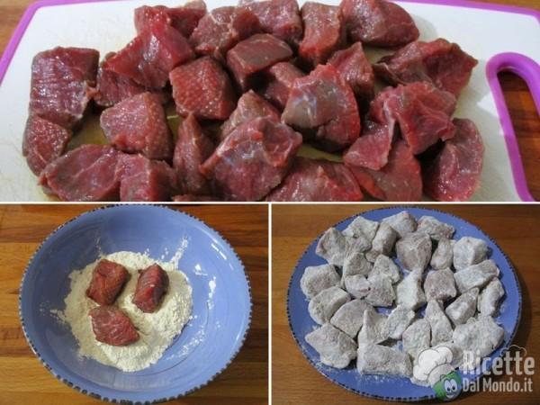 Bocconcini di vitello con patate 3