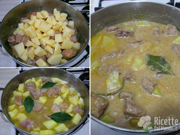 Bocconcini di vitello con patate 6