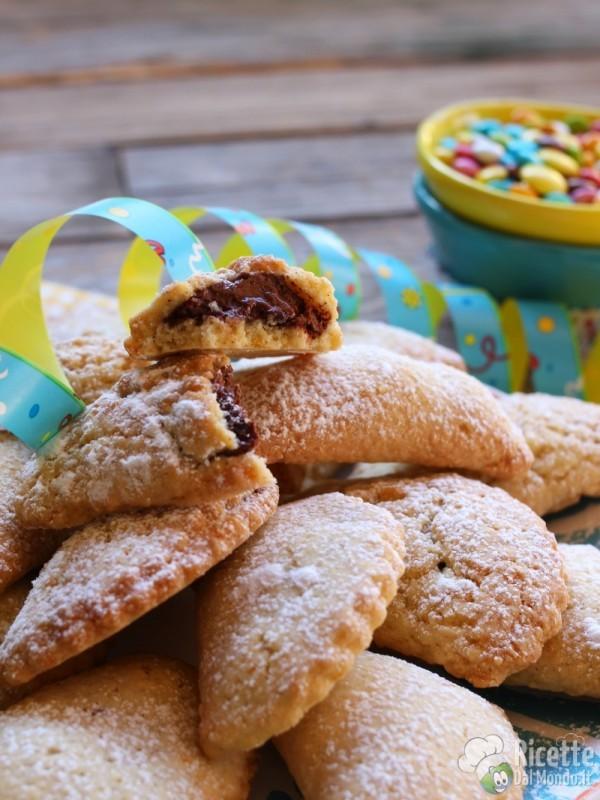 Ravioli dolci al forno di Carnevale