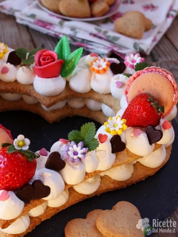 Cream tart per la festa della mamma