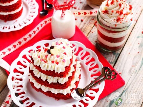 Piccole torrette red velvet cake