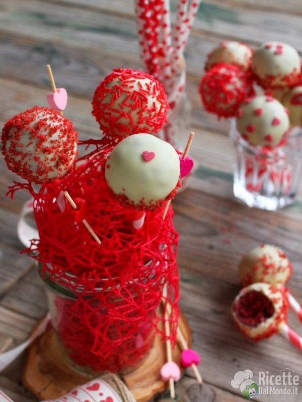 Come fare i red velvet cake pops